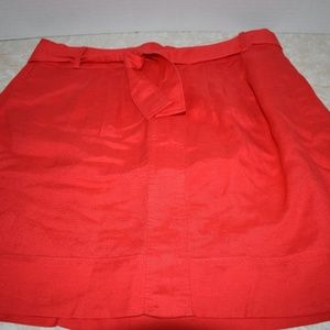 Banana Republic Sz 8 Linen Blend Skirt Summer